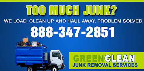 The Green Clean Junk Removal Advantage
