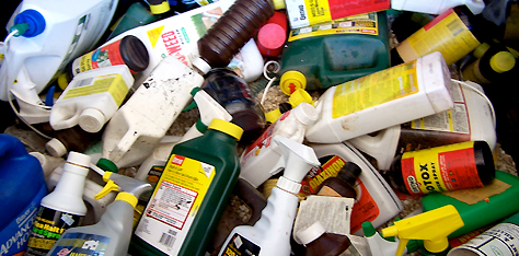 Need to Get Rid of Household Hazardous Waste Call Green Clean Junk Removal Services
