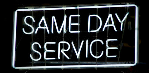 Superior Same Day Service in Los Angeles