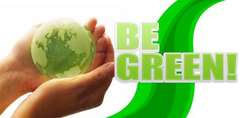 Be Green! Environmentally Safe Junk Removal!